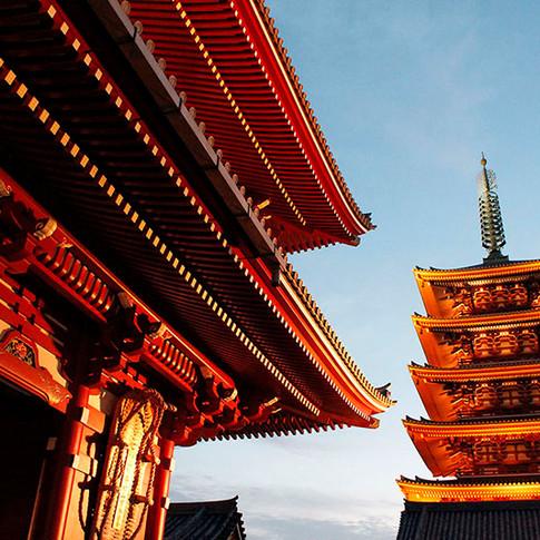 Sensoji Temple Asakusa, Tokyo