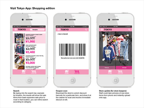 Mobile App mock-up 2