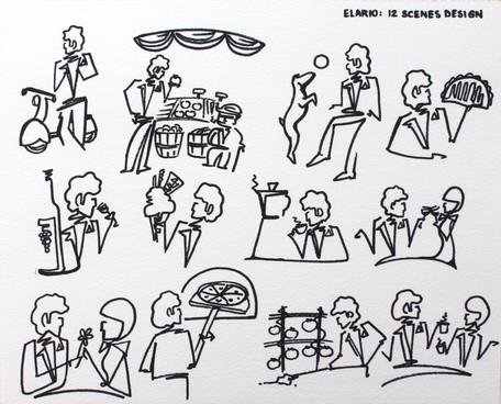 Elario sketches