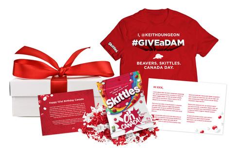 Skittles 151 media kit for loyalists