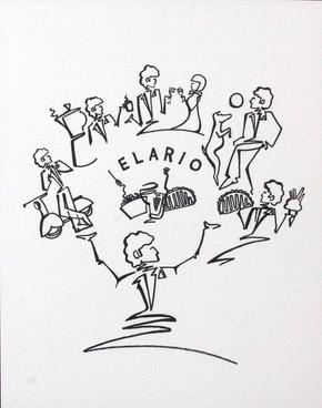 Elario menu cover