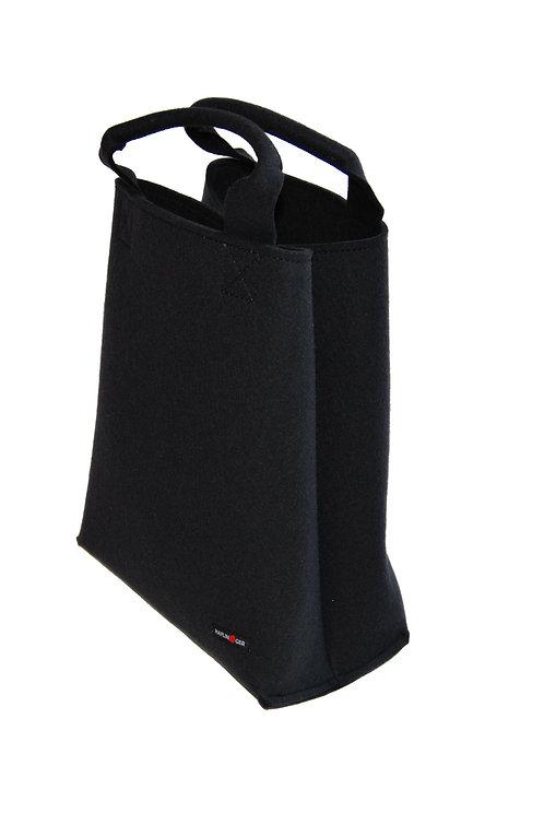 Sac Haflinger - Shopper (noir)