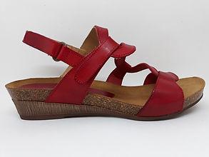 Sandales compensées XAPATAN femme.