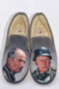 chaussons, pantoufles, Bourvil et de Funès, grande vadrouille.