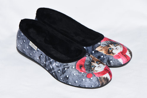 Chaussons ballerines femme - Cathy