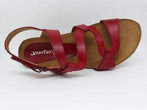 XAPATAN sandales compensées, confort pour femme