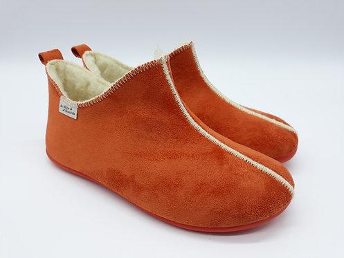 Chaussons  botillons femme - CHAMONIX orange
