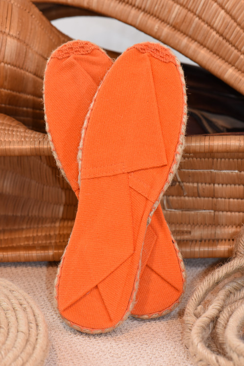 espadrille homme orange espadrilles chez espadrille mania. Black Bedroom Furniture Sets. Home Design Ideas