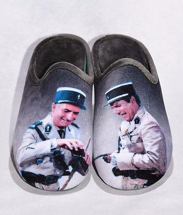 chaussons, pantoufles, Gendarme de St Tropez