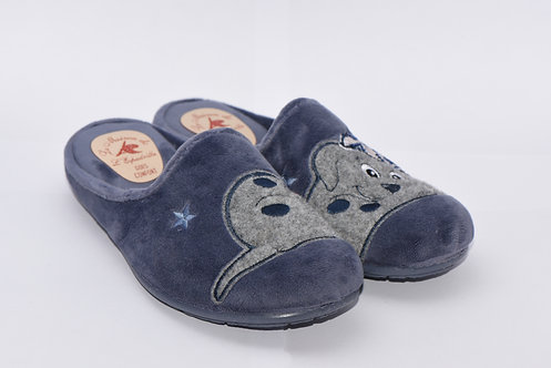 Chaussons mules femme - Tina (jean)