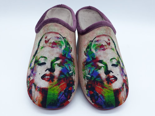 MARILYN MONROE Chaussons femme