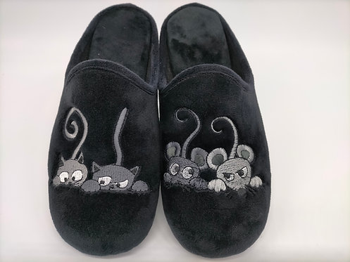Chaussons mules femme - LOLA