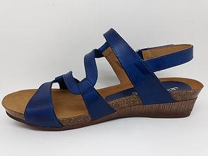 Sandales compensées femme XAPATAN. Sandales compensées confort.