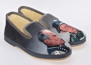 charentaises rigolos, pantoufles, chaussons personnages