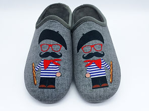 "Chaussons homme, pantoufles, homme. ""Frenchy"""