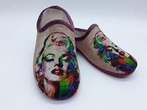 chaussons marilyn monroe