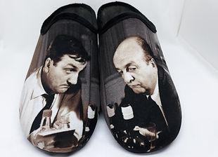 """Chaussons, pantoufles """"Les Tontons Flingueurs"""""""