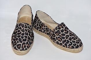 espadrilles femme, espadrilles léopard, la maison de l'espadrille
