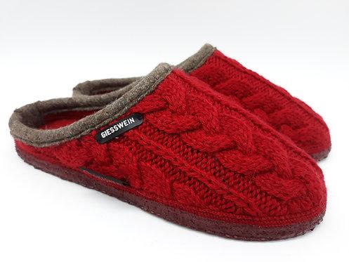 Chaussons GIESSWEIN - NEUDO rouge