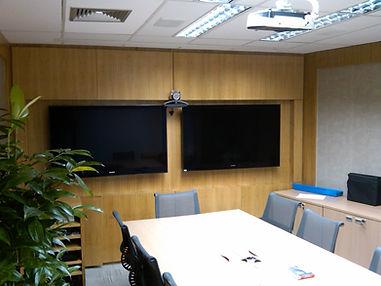 sala re reuniao de videoconferencia