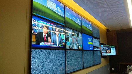 video wall com borda
