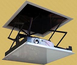 lift de teto para projetor