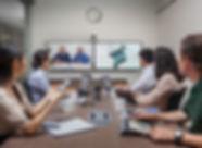 Polycom sala de videoconferencia Quadcomm