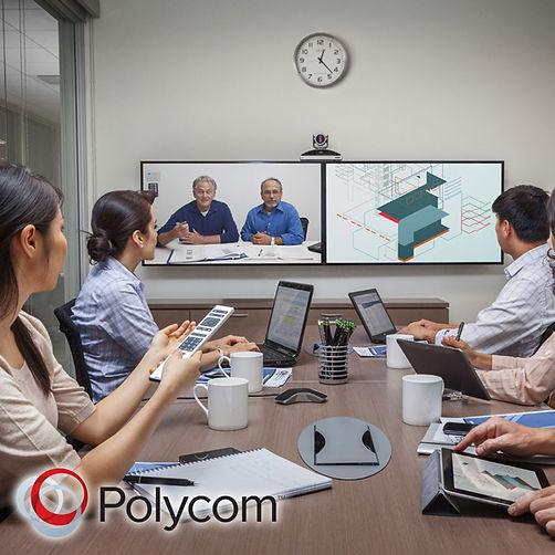 sala de videoconferencia polycom