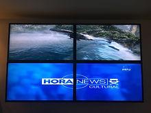 video wall half horizontal