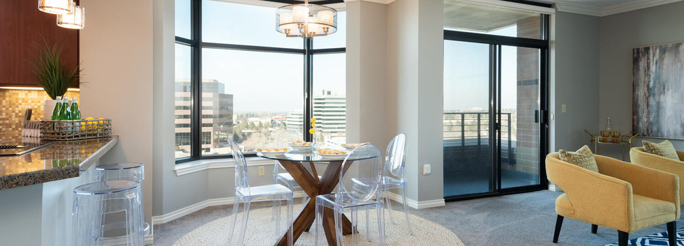 View of Dining Area from Entry of unit