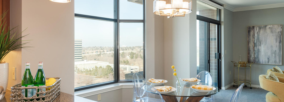 View of Dining Area from Kitchen