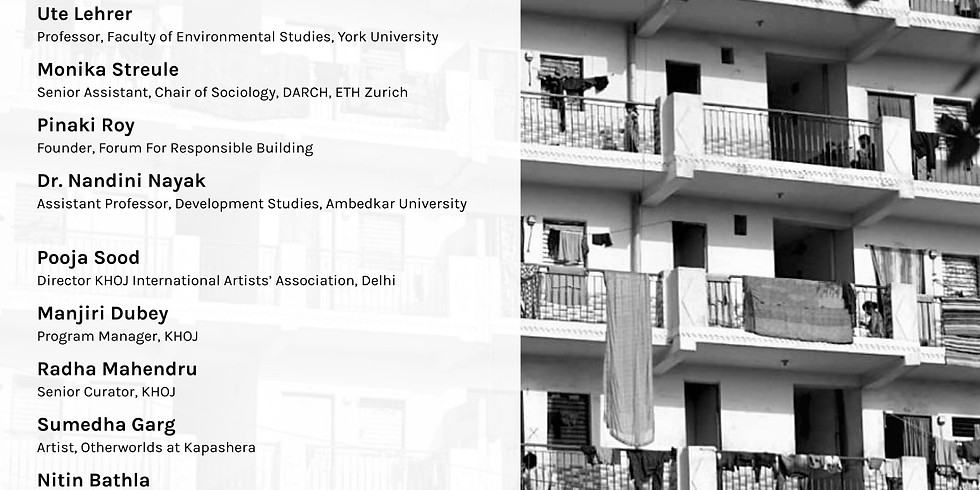 Art and Planetary Urbanisation Workshop