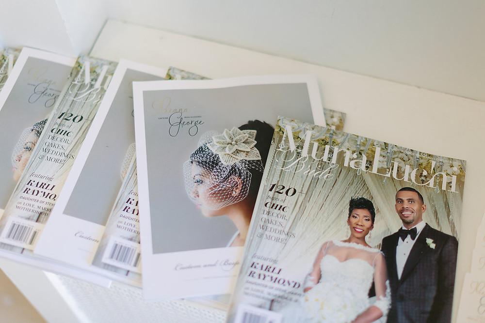 Ilieana George Featured on MunaLuchi Bride Magazine