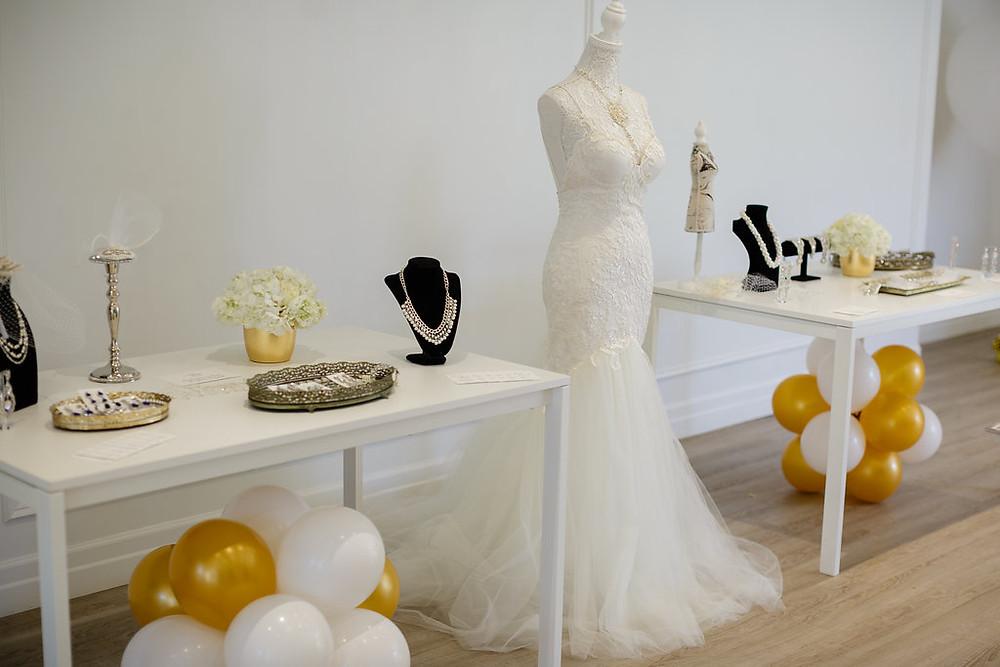 wedding dress - pop up shop - bridal accessories - Ilieana George Couture