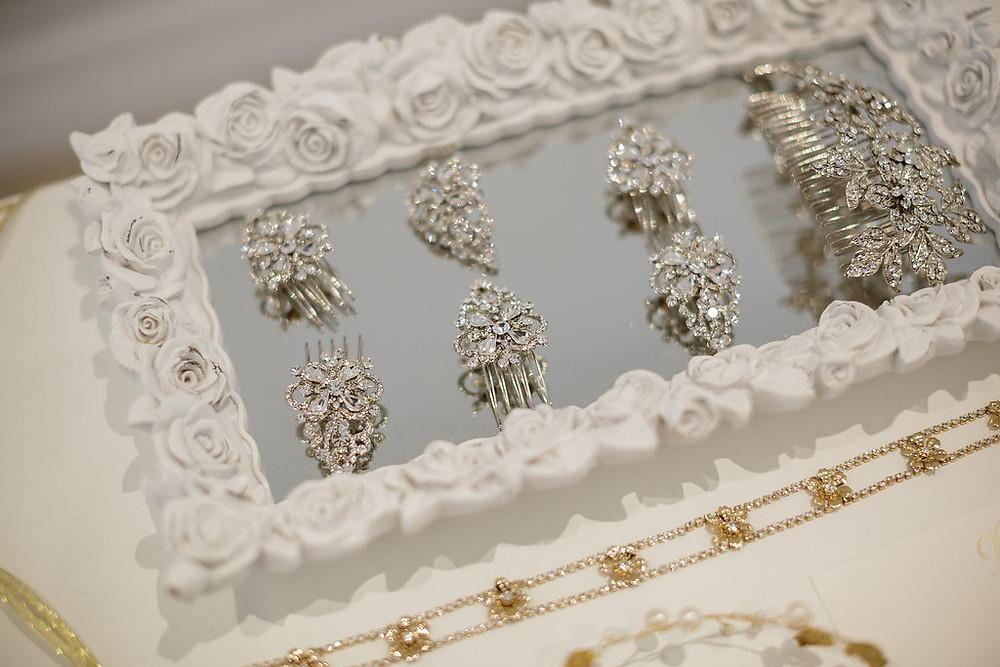 Bridal Hair combs - Toronto wedding accessories