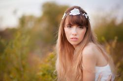 Wedding hairvine Canada - Ilieana George