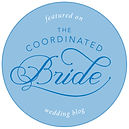 Ilieana George's bridal hair accessories featured on the Coordinated Bride website
