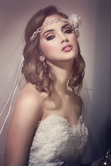 Bridal hair accessories: bridal headpieces by Ilieana George Couture