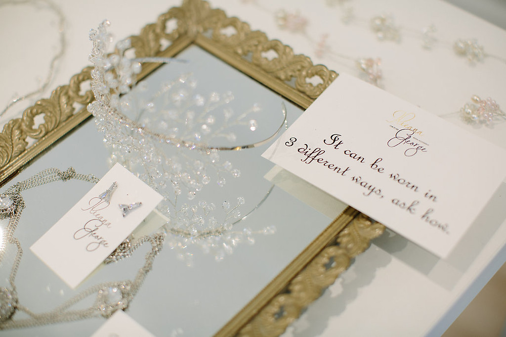 wedding headpieces - bridal accessories by Ilieana George Couture