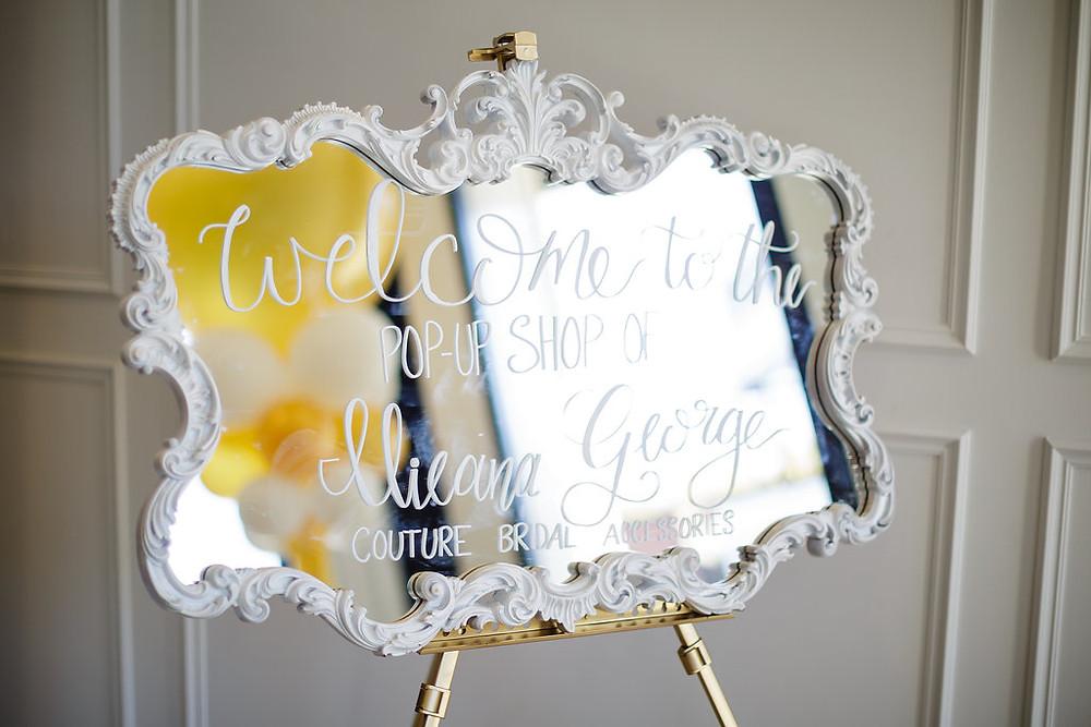 Ilieana George Couture - Pop Up Shop - Bridal Accessories Toronto