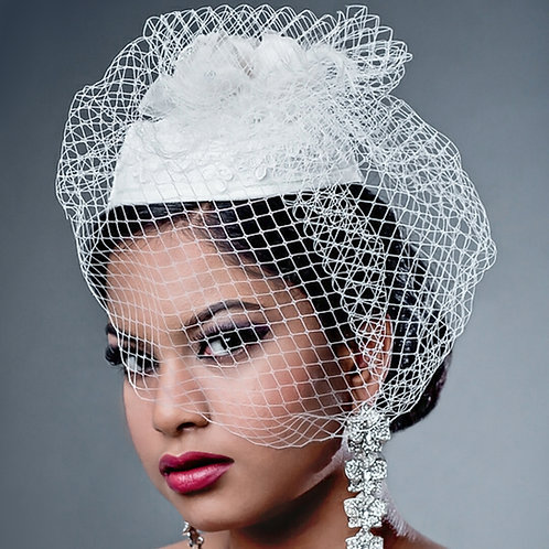 Desiree Vintage Bridal Hat