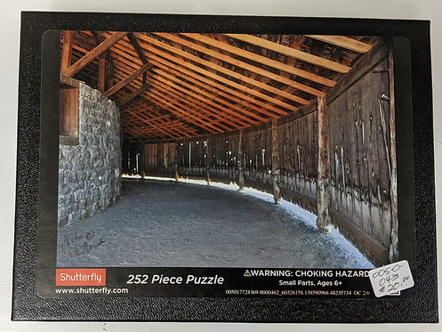 Puzzle, P. French Round Barn