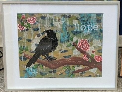Painting/MultiMedia, Raven