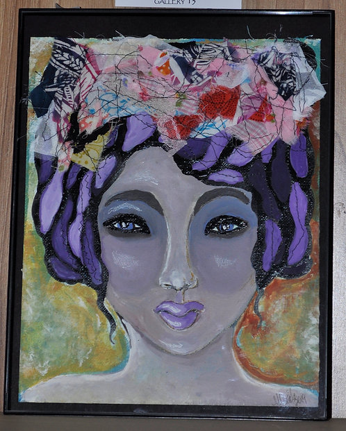 Purple Head Lady