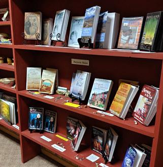 Local authors' books