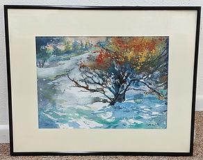 ML Wilhelm, #WC40, Snow Color, watercolor,16X20, $195.jpg