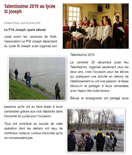 Talentissimo Saint Joseph Château-Thierry