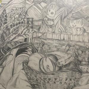 Still life sketch