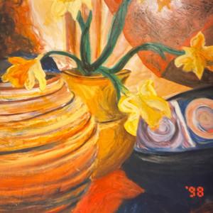Still life with bowls