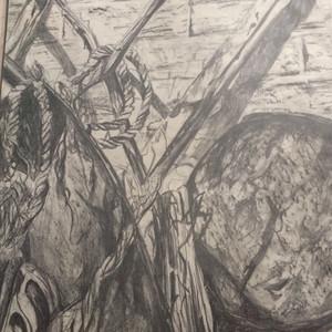 Rusty object sketch